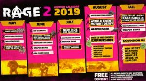 Rage 2 Roadmap