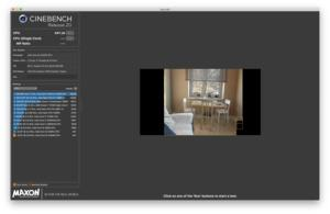 Maxon Cinebench R20