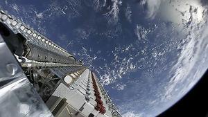 Starlink Satelliten-Stack