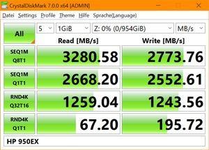 HP SSD 950 EX