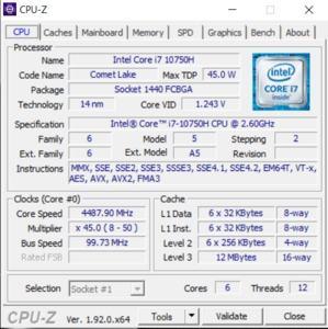 GPUz und CPUz des Gigabyte Aorus 5