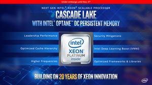 Intel Cascade Lake-AP Pressdeck