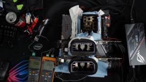 Zwei GeForce RTX 2080 Ti im SLI und mit LN2 gekühlt