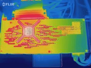 Wärmebildaufnahme der AMD Radeon VII
