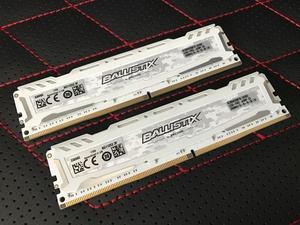 Crucial Ballistix DDR4-2666 16-GB-Kit