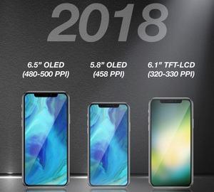 Apple iPhone X: Smartphone wird laut Analysten 2018 drei Nachfolger erhalten