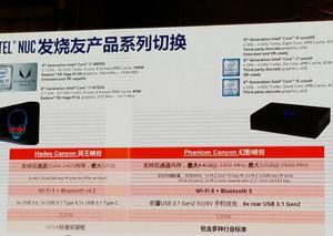 Leaks zum Phantom Canyon NUC von Intel