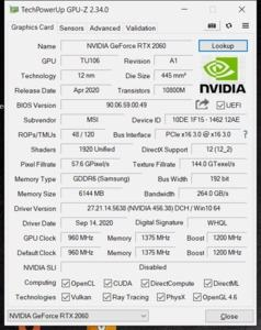 GPUz und CPUz des MSI GS66 Stealth