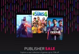 EA Publisher Sale im März 2019