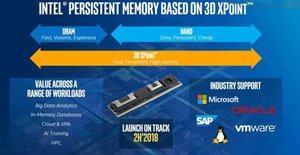Intel will DIMM-Module mit 3D-XPoint-Speicher ab dem 2. Halbjahr 2018 anbieten