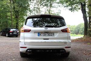 Der Ford S-MAX Vignale verbindet Sportlichkeit und Platz für die ganze Familie mit ein wenig Luxus