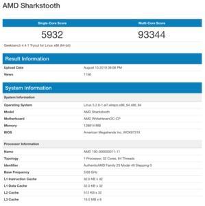 AMD Sharkstooth bzw. Ryzen-Threadripper-Prozessor der dritten Generation