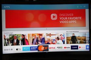 Samsung QE55Q8C und Apple TV 4K