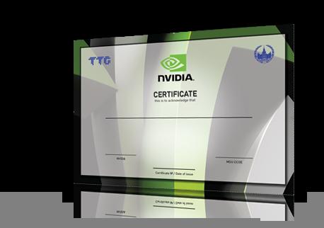 NVIDIA запускает в России программу сертификации CUDA