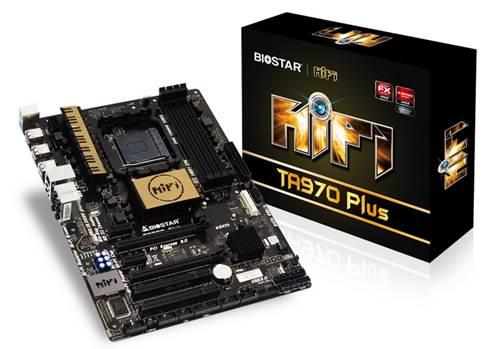 BIOSTAR представила TA970 Plus - материнскую плату с поддержкой