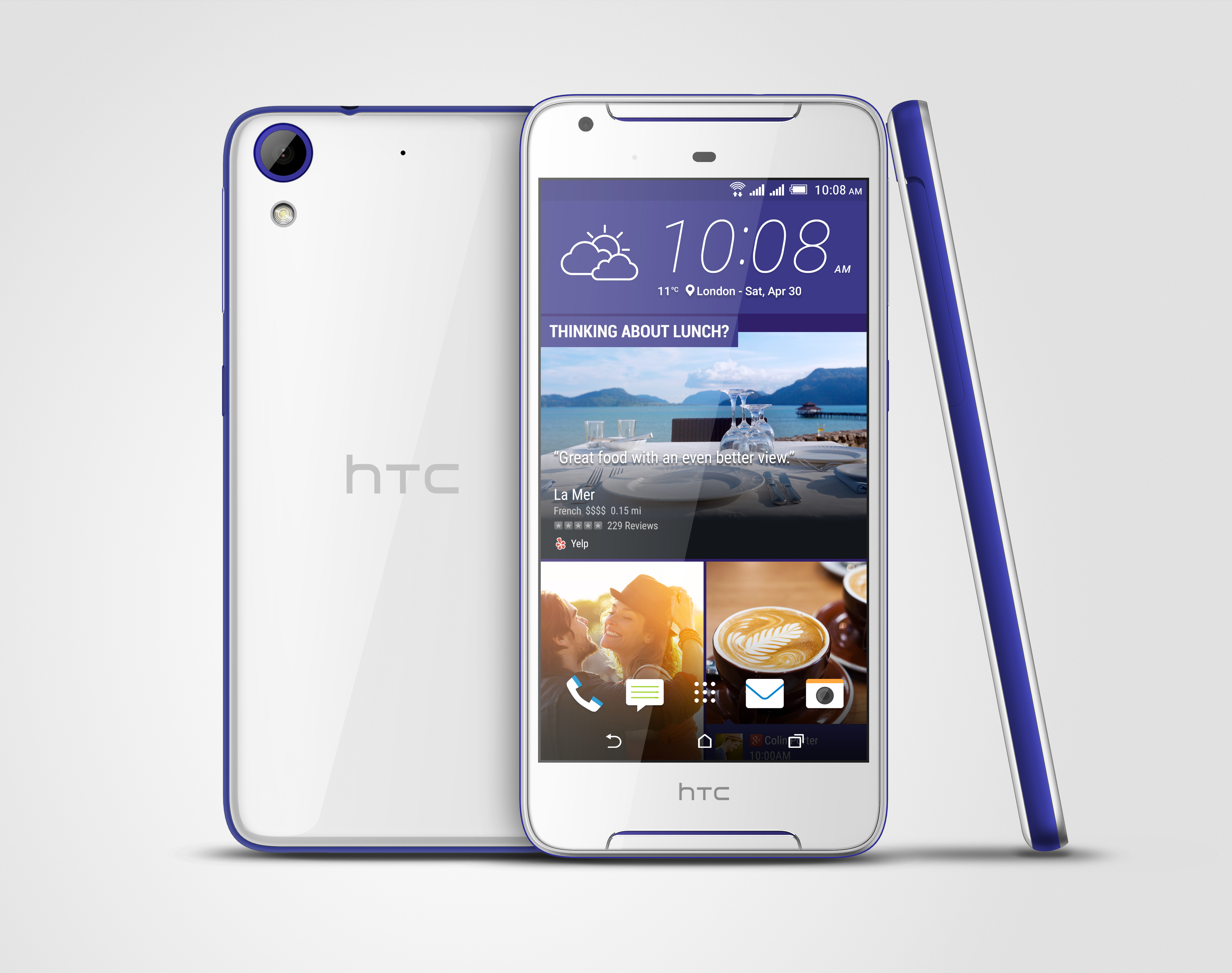 HTC Desire 628 ds white