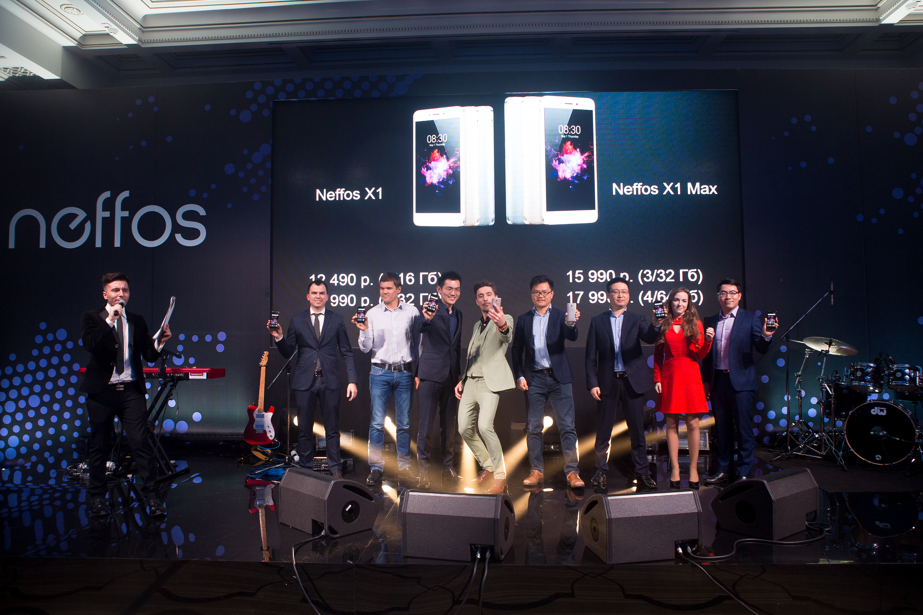 Neffos X1 at Four Seasons Moscow 8