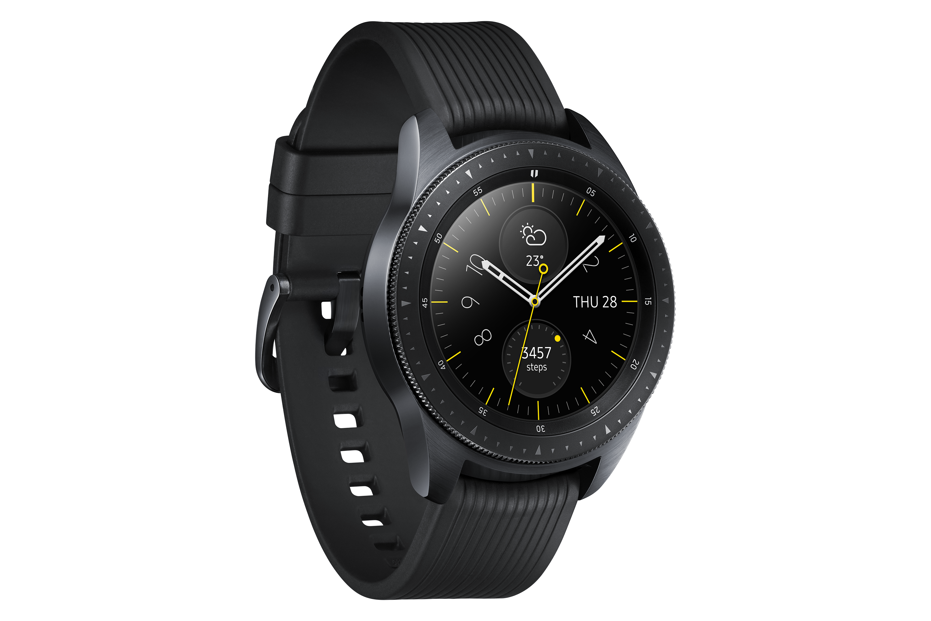 Galaxy Watch L Perspective Midnight Black
