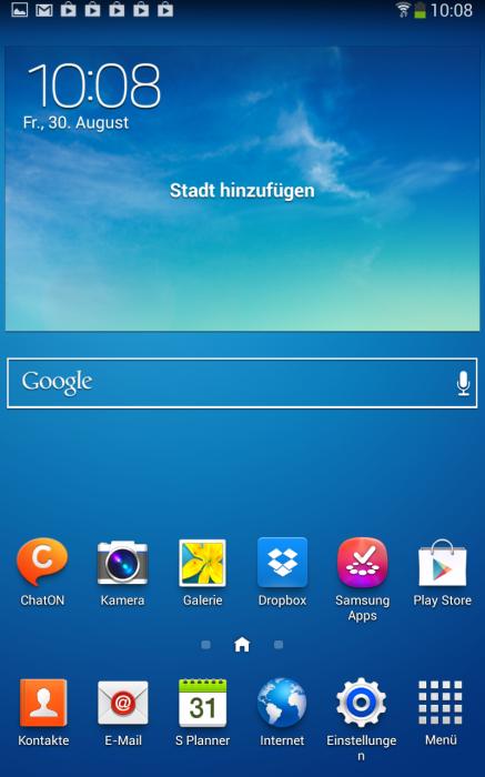 Как сделать скриншот на galaxy tab a