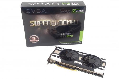 Мини-обзор: EVGA GeForce GTX 1070 SC Gaming ACX 3 0